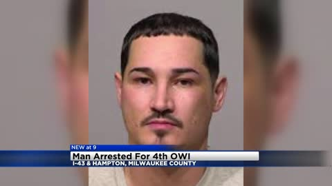 Milwaukee man facing 4th OWI offense after crashing into guard...
